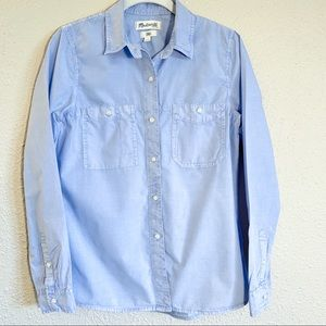 Madewell Blue Button Up